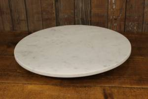 Marble Round Cake Stands-L