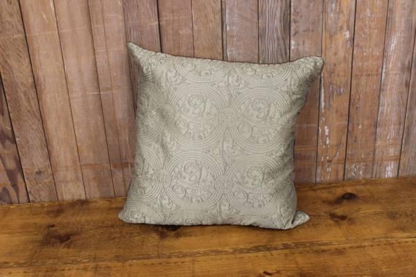 Green & Brown Pillow