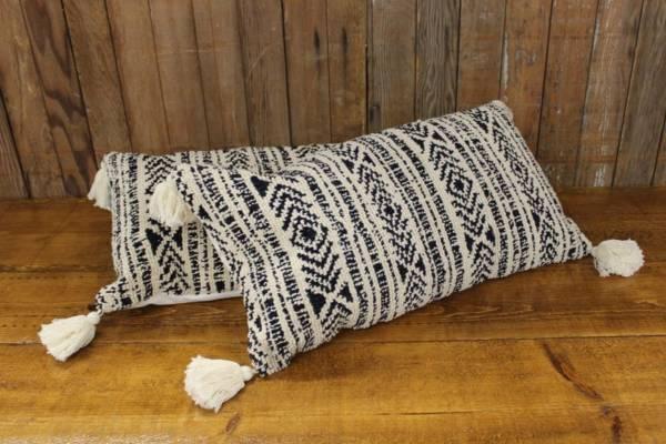 Navy & Cream Pillows