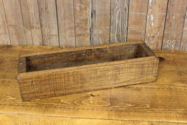 Dad's Wood Rectangular Box