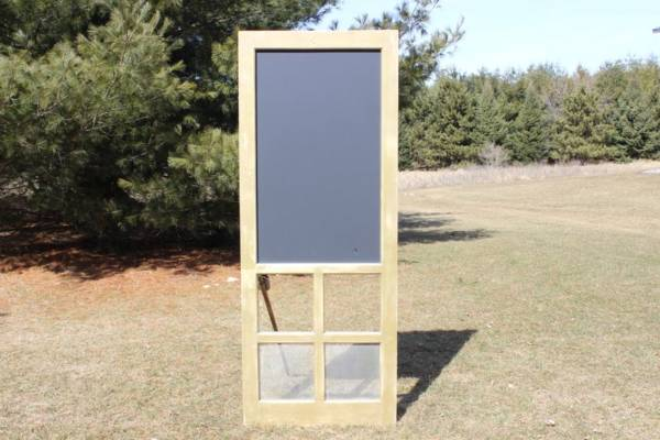Silver & Gold Chalkboard Door