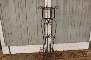 Rod Iron Plant Stands