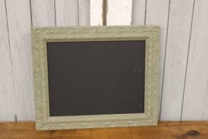 F73: Fancy Sage Green Chalkboard