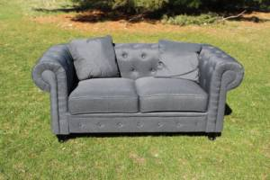 Charcoal Chesterfield Sofa