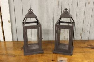 Dark Bronze Lanterns