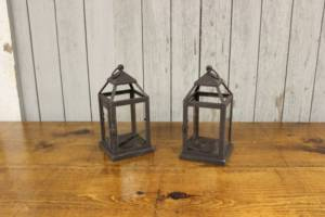 Dark Bronze Mini Lanterns